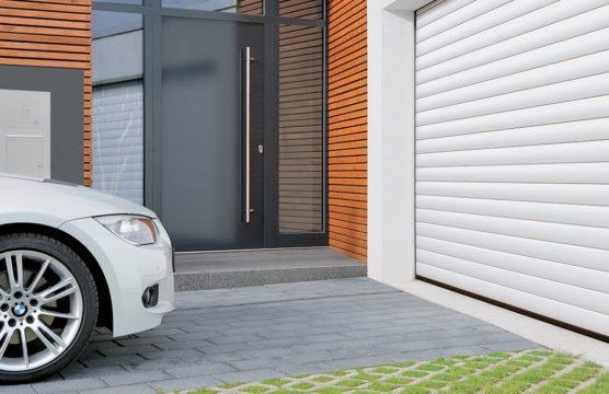 Les portes de garages à enroulement