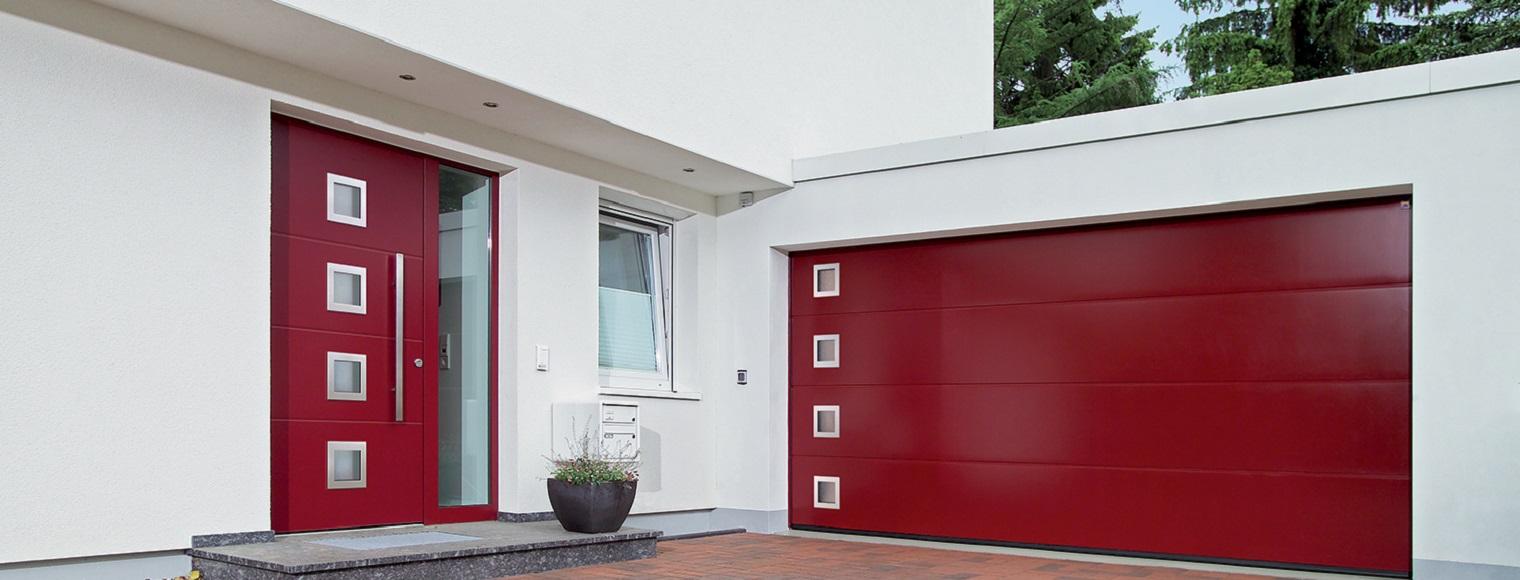 Associez votre porte de garage avec votre porte d 39 entree for Porte de garage sectionnelle harmonic