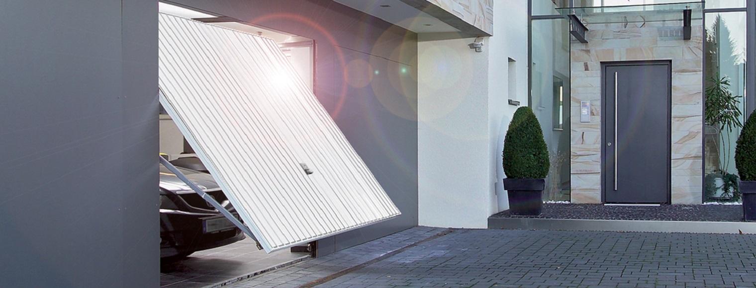 Porte de garage basculante motif 124 tubauto for Programmation porte de garage tubauto