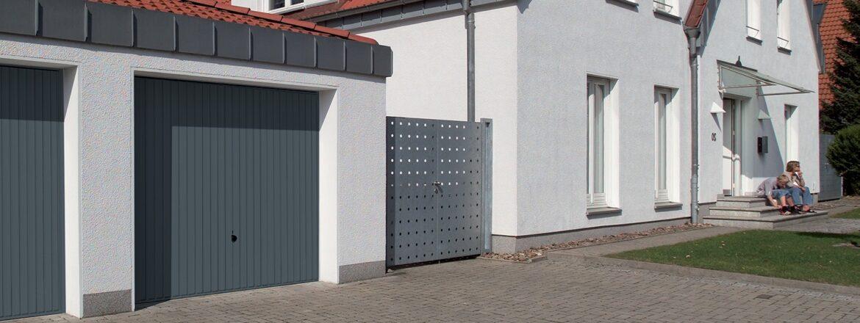 Portes de garage basculantes sur mesure fabriquant tubauto - Porte de garage basculante debordante ...