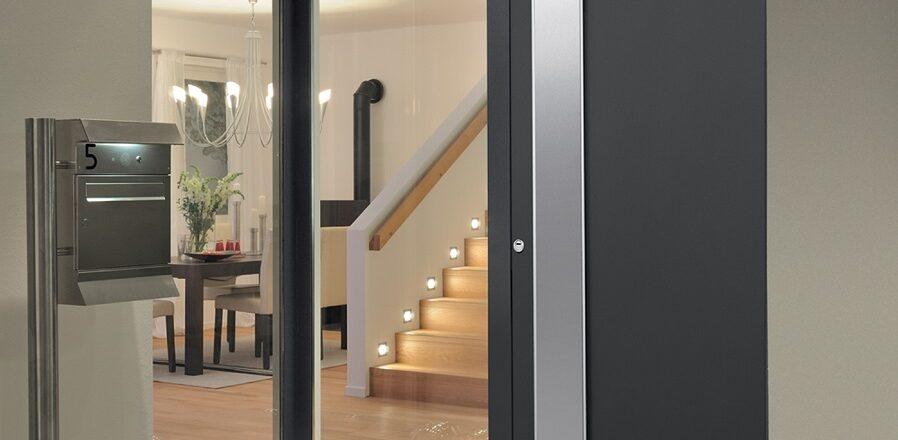 Portes d'entrée en aluminium Safestyle