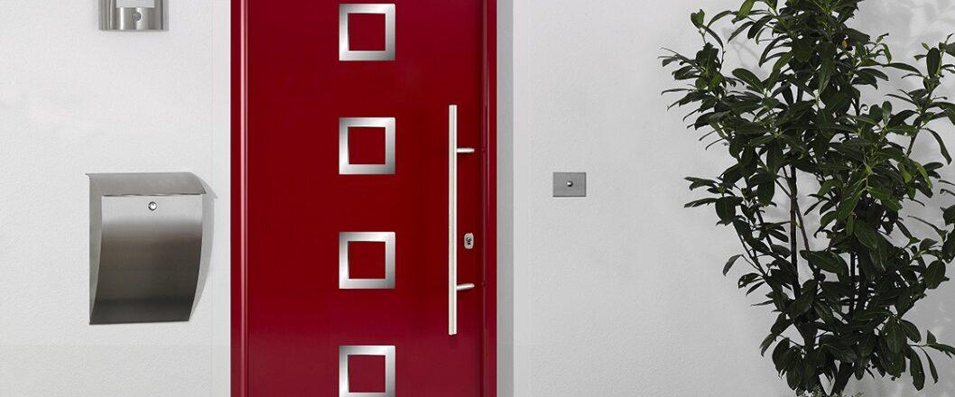 Porte d'entrée en métal Select 46